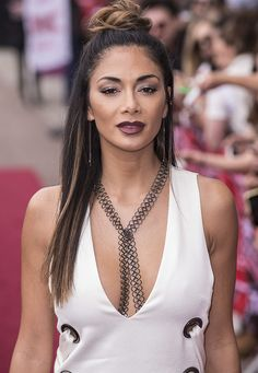 "Nicole Scherzinger wore an ""Utopian"" jumpsuit from Australian label Ellery at the X Factor Auditions held at the Excel Centre in London on June 19, 2016"