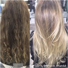 #AnteseDepois .. Loiro !!! #BestBlondes #efhairclub  #fabricadeloiras #opoderdasmechas #aquinosalao #amagiadascores #lourodesalao #loiroryco #autoridadeemmechas #mechas #luzesnocabelo #luzes #platinado #tijuca  #platinadoperfeito #madeixas #blondhair #blond #blogger #bloggueira #TOP #cabelodediva #loirodossonhos #cabeloloiro #colorista #ficoulindo #loiroryca  @fernando_efhairclub