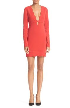 A.L.C. Eve Scalloped Dress available at #Nordstrom