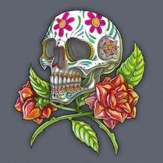 Dia de los muertosby ~Neekou Designs & Interfaces / Tattoo Design©2008-2013 ~Neekou