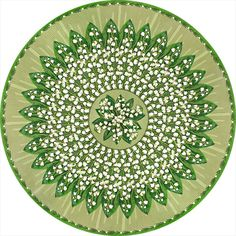 Couture 2013 Rug Collection - Lilies of the Valley