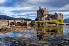 Eilean Donan Castle in Scotland #Highlander #JamesBond