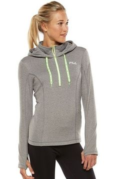 19fcc067e229 FILA SPORT® Fleece 1/4-Zip Running Hoodie - Women's Sports Hoodies,. Kohl's