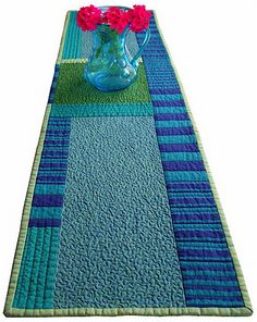 modern table runner