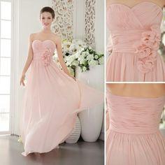 vestidos largos palo de rosa - Buscar con Google