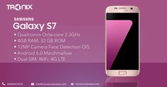 Tronix Computers offering the best of Samsung Mobile #Galaxy #S7 SM-G930FD #Duos 4GB LPDDR4 RAM at #LowestPrice with #FreeShipping in all over the #UK & #EU in #ClearanceSale to place your order now or for more information please visit our store
