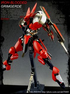 GUNDAM GUY: 1/100 Grimgerde - Customized Build