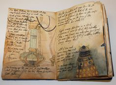 River Song's Journal: EBOOK OR TABLET COVER     (you can actually request for specific drawings, which is AMAZING)     And there are a couple of pages at the front of just diary