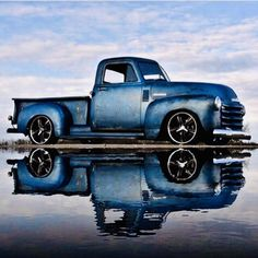 Chevy trucks aficionados are not just after the newer trucks built by Chevrolet. They are also into oldies but goodies trucks that have been magnificently preserved for long years. Rat Rods, Chevy C10, Chevy Pickups, 1951 Chevy Truck, Custom Trucks, Custom Cars, Classic Chevy Trucks, Classic Cars, Chevy Classic