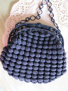 Beautiful Crochet Vintage purse       ♪ ♪ ... #inspiration #diy GB http://www.pinterest.com/gigibrazil/boards/