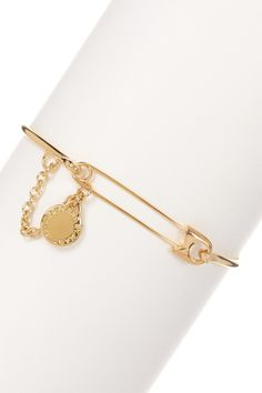 Safety Pin Bangle by Marc by Marc Jacobs on @HauteLook