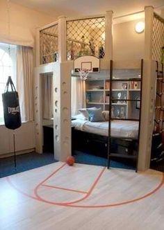 AWSOME room for a sporty kid!
