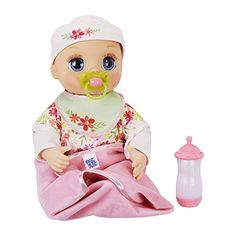 Baby Alive Real As Can Be Baby: Realistic Blonde Baby Doll, 80 Lifelike Expressions, Movements & Real Baby Sounds, With Doll Accessories, Toy for Girls and Boys 3 and Up Muñeca Baby Alive, Baby Alive Dolls, Baby Doll Nursery, Baby Girl Dolls, Baby Crib, Real Baby Dolls, Cute Baby Dolls, Blonde Babies, Blonde Boys