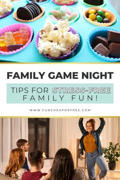 Make your next family game night super fun and stress-free with these awesome game night tips and ideas! Make memories that will last a lifetime while sticking to your budget and do it all without even missing bedtime.