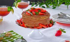 """Palacinková torta """"Čokoláda, jahoda, mascarpone"""""""