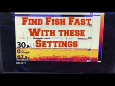 Learn how to use your fish finder on this weeks BassGeek. I cover how to setup Sonar, How to setup Down Imaging (DI), and How to configure Side Imaging (SI). Bass Fishing Tips, Walleye Fishing, Fishing Knots, Ice Fishing, Saltwater Fishing, Kayak Fishing, Fishing Tricks, Fishing Australia, Fishing Adventure