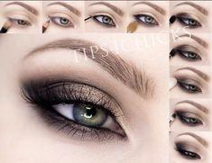 Makeup ideas paso a paso tutorials 42 ideas for 2019 Make-up-Ideen Paso ein Paso-Tutorials 42 Blush Makeup, Makeup Eyeshadow, Makeup Brushes, Glitter Makeup, Clown Makeup, Halloween Face Makeup, Costume Makeup, Witch Makeup, Cat Makeup