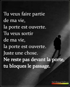 Mots Forts, Strong Words, French Quotes, Positive Affirmations, Love Life, Sentences, Quotations, Encouragement, Inspirational Quotes