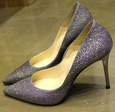 e4bda416678a Gorgeous pointed high heel shoes Grey Heels