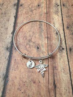 Physician Assistant charm bracelet  medical jewelry by kimsjewelry