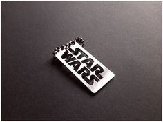 Star Wars Key tag keychain by akta01WorkShop on Etsy