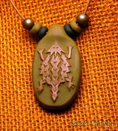 Horny Toad! New Mexico Clay Pendant Southwestern Horned Lizard  $9.95 --- http://www.ebay.com/itm/181229527647?var=&ssPageName=STRK:MESELX:IT&_trksid=p3984.m1555.l2649