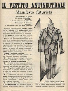 MANIFESTO FUTURIISTA