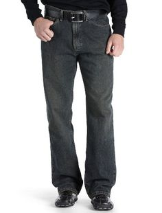 Lee Men's Big & Tall Premium Select Relaxed Fit Straight Leg Jeans, Sanded Bronze