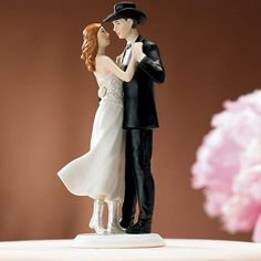 "Wholesale Event Solutions - ""A Sweet Western Embrace"" Cake Topper, $44.98 (http://www.eventswholesale.com/a-sweet-western-embrace-cake-topper/)"