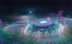 Elvin forest City 3D Fractal by zananeichan.deviantart.com