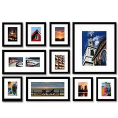 nero foto parete collezione di montature - set di 10 – EUR € 74.24