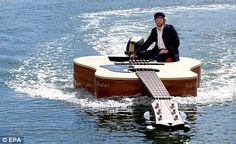 Guitar Boat