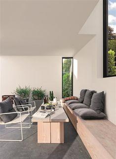 Lignes simples et béton pour une maison danoise - PLANETE DECO a homes world