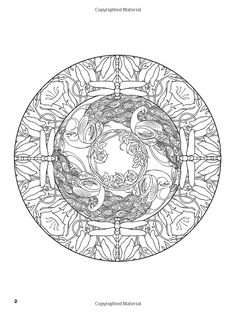 Nature Mandalas Coloring Book (Dover Coloring Books): Marty Noble, Coloring Books: 9780486476520: Amazon.com: Books