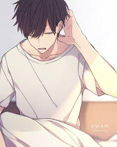 画像 Anime Oc, Chica Anime Manga, Manga Boy, Cool Anime Guys, Handsome Anime Guys, Cute Anime Boy, Kageyama, Haikyuu, Anime Triste