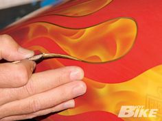 I love Pinstriping and Flames...because of my Brother.