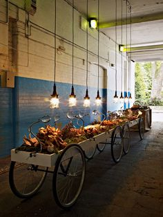inspiration for art installation/market display Helsingor, Food Retail, Retail Shop, Cafe Restaurant, Restaurant Design, Cafe Design, Store Design, Architecture Restaurant, Fruit Shop