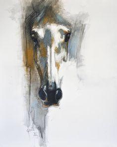 """Saatchi Art Artist Benedicte Gele; Drawing, """"Alert XII"""" #art"""