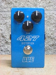 BBE 427 Distortion Pedal   Reverb