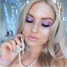 Maquillajes de sirena para las que quieren un disfraz sencillo y sexy