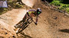 Downhill Mountain Biking in the Alps