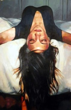 """Saatchi Online Artist: thomas saliot; Oil, Painting """"Up side down"""""""