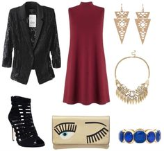 Class to night out: lace blazer