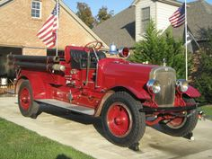 Hemmings Find of the Day – 1926 Seagrave Model Fire Engine Fire Dept, Fire Department, Fire Equipment, Fire Prevention, Rescue Vehicles, Truck Engine, Automobile, Old Tractors, Fire Apparatus