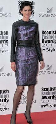 Stella Tennant (Hall of Fame winner) in Christopher Kane @ Scottish Fashion Awards Stella Tennant, Scottish Fashion, Christopher Kane, Celebs, Celebrities, Designer Collection, Red Carpet, Peplum Dress, Celebrity Style