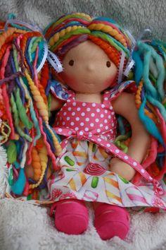 Annika would like it..looks like her new barbie...same hair colors.