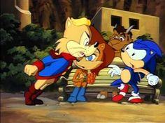 Sonic the Hedgehog (SatAM) Episode 11 - Warp Sonic