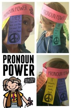 Pronoun Headbands