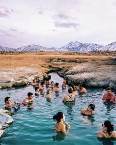 Wild Willy S Hot Springs Mammoth Lakes Ca Backpacking