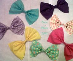 kinda obsessed with bows.
